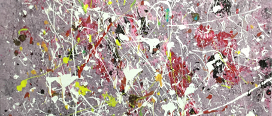 """Confetti"" An Original Painting"