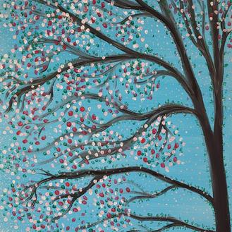 Sakura Rebirth Original Painting