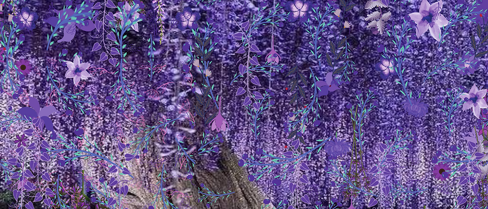 """The Purple Forest"""