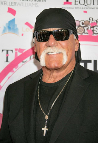 Hulk Hogan at Charity Event Press