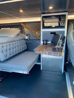 Digital nomad setup #vanlife