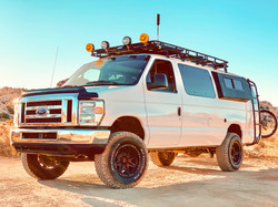 Off Road campervan with flares