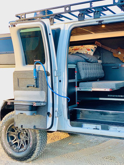ford e350 conversion van with sink
