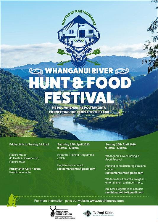 Raetihi Marae 2020 Hunt  Food Festival P