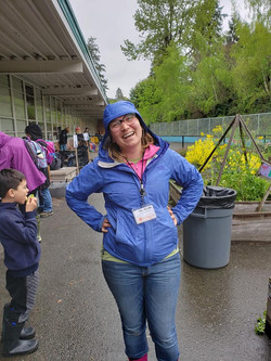 All Smiles in the Garden Club