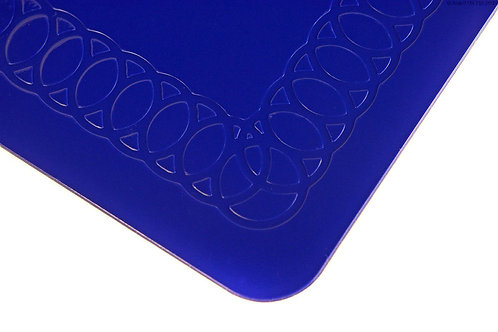 Anti Slip Rectangle Table Mat 45cmx38cm - Blue