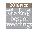 The knot.com best of weddings winner 3 years in a row