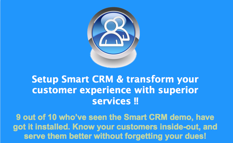 Smart CRM for Superior experience