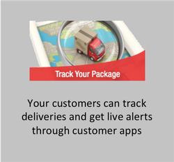 Track deliveries