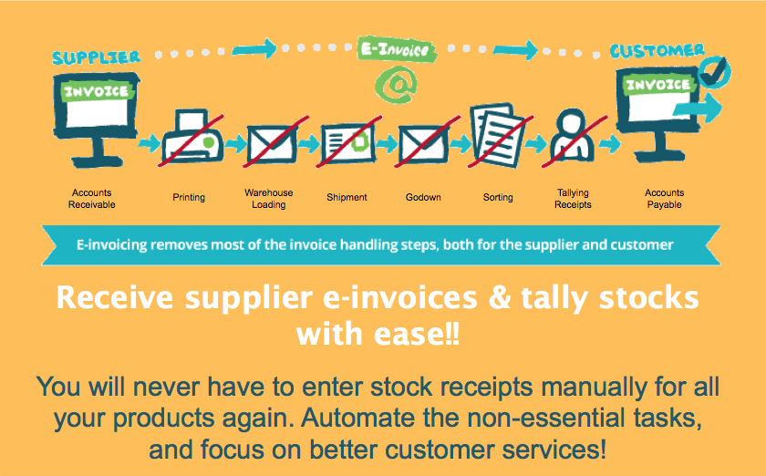 Receive Supplier E-Invoices Easily
