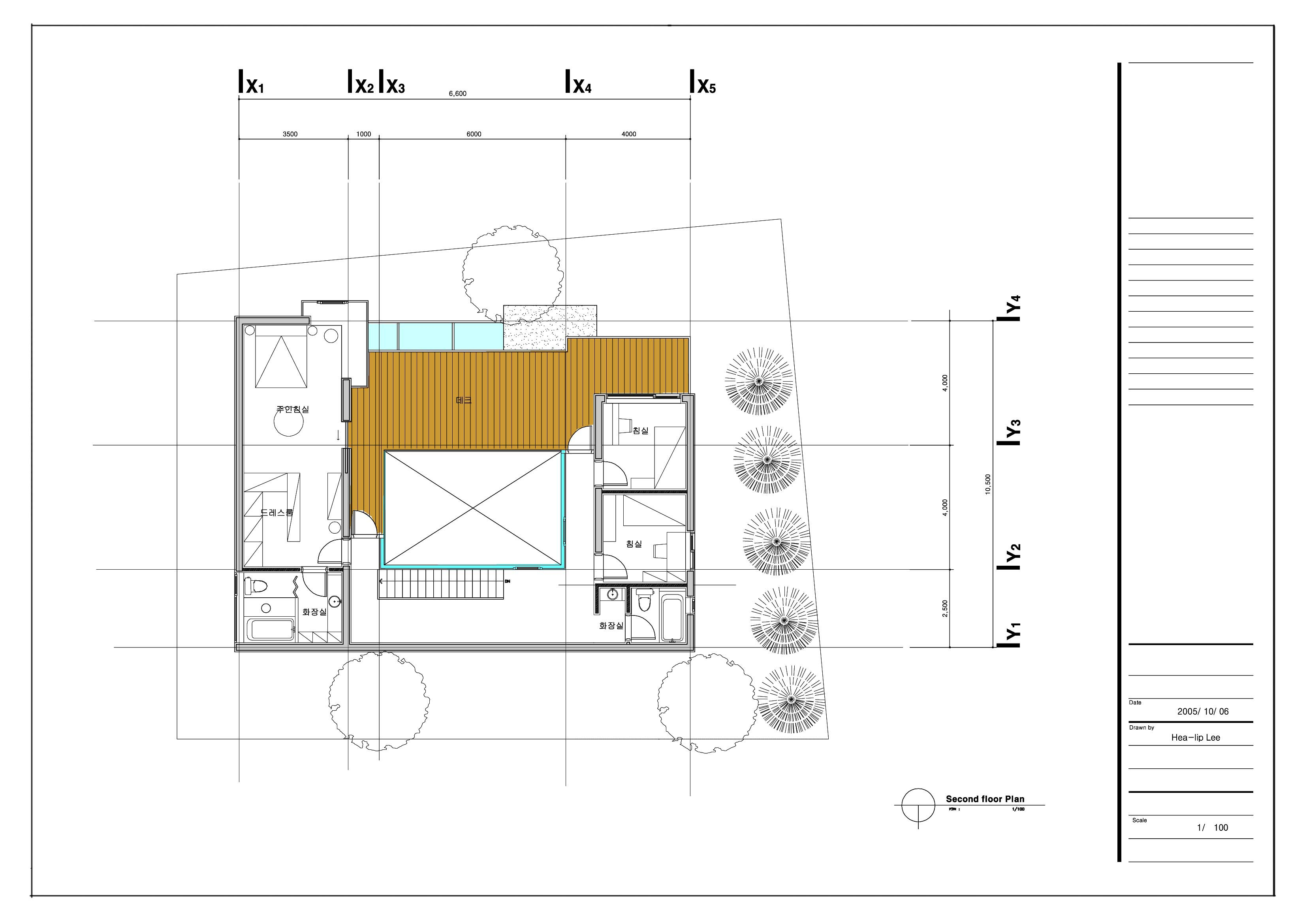 Cad Plan 2nd Floor