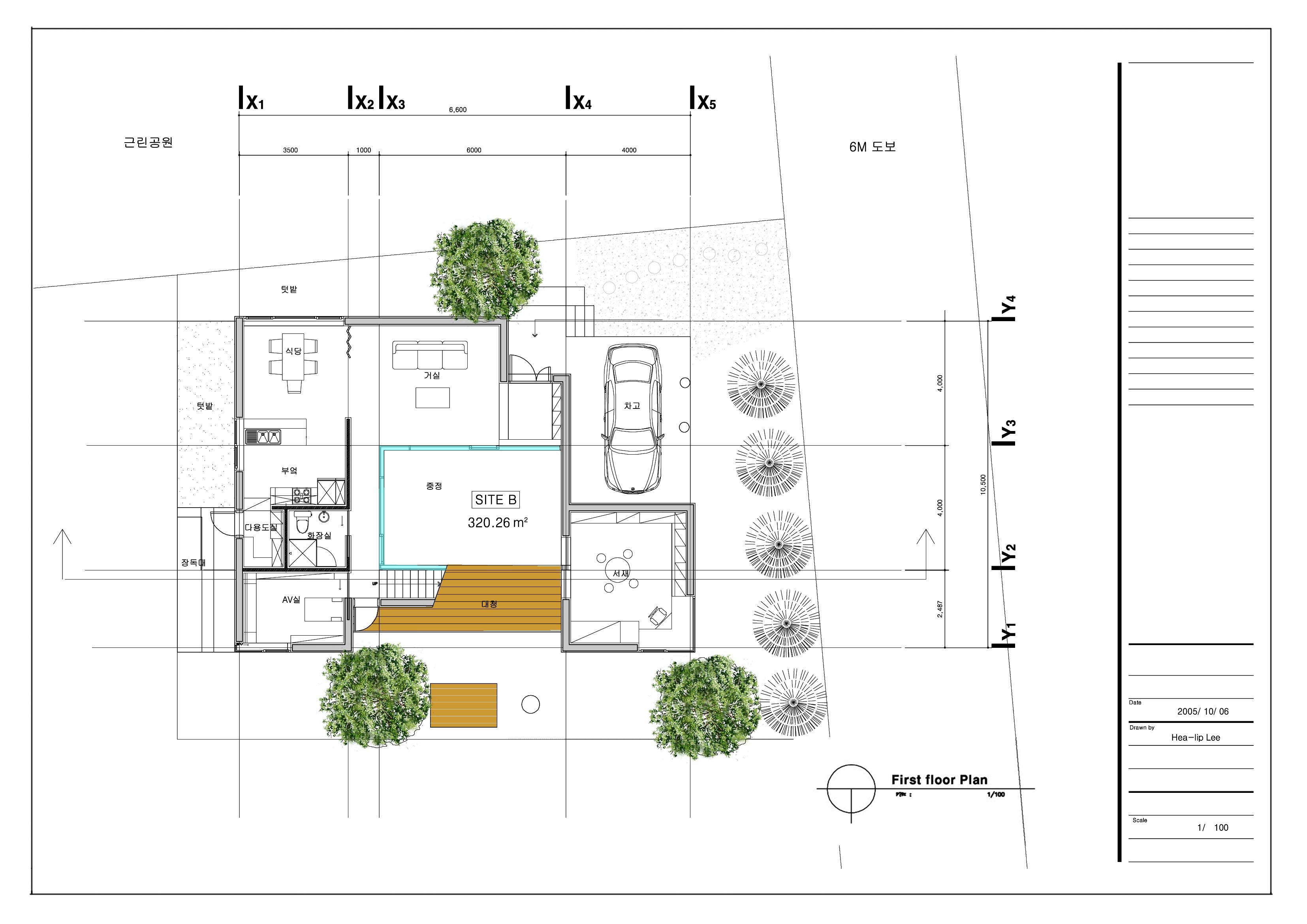 Cad Plan 1st Floor