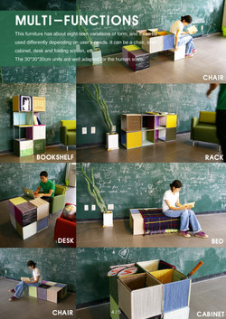 puzzle furniture - functions