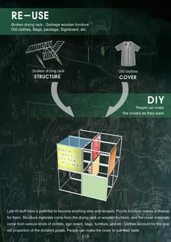 puzzle furniture - materials