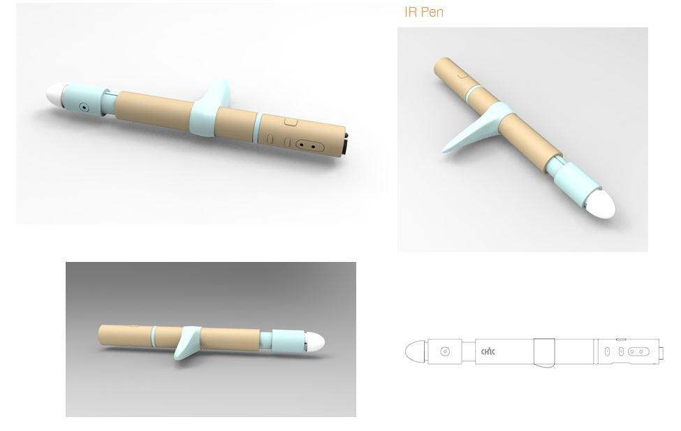 IR Pen holder and color