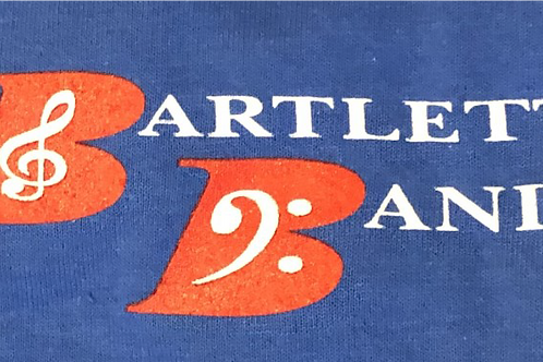 #7, #8, & #9 Bartlett City Schools Marching Band | 3 front logos
