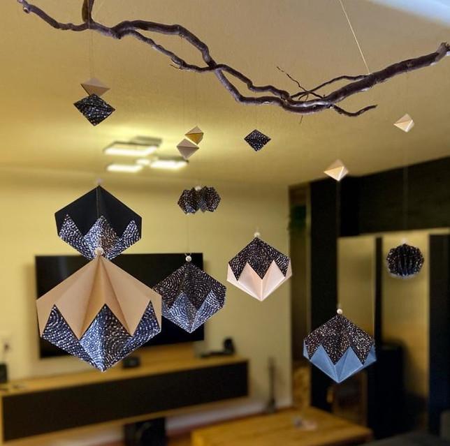 Moderne Wohnraumdeko