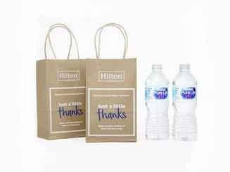 Hilton Honors Welcome Bag