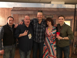 Blake Shelton and Team Cat