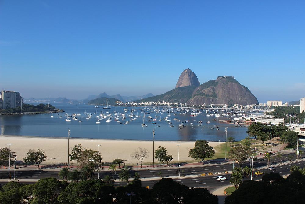 Enseada de Botafogo - Vista Panorâmica