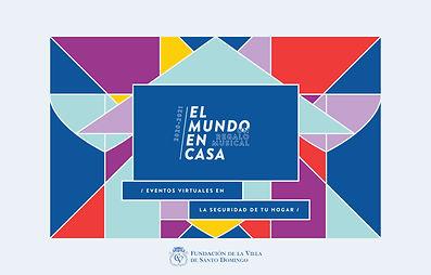 Website El Mundo en Casa Con logo Funvis