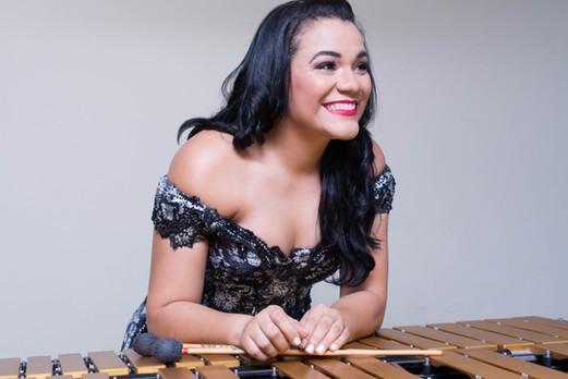 Claudia Reyes, Percusion