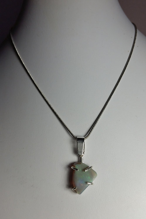 6.5ct Ethiopian Opal Necklace