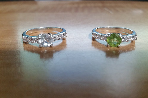 7mm Gemstone(s) Size 8 Ring
