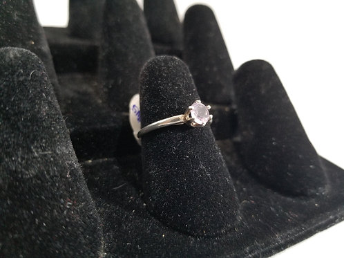 5mm Amethyst Size 6 Ring