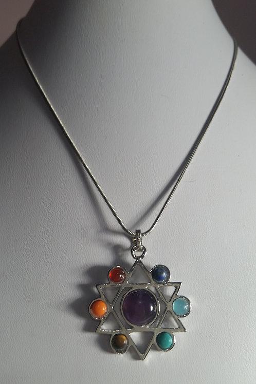 "Chakra Stone 16"" Necklace"