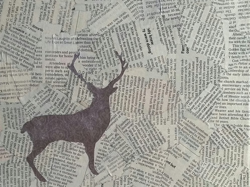 Newsprint Buck