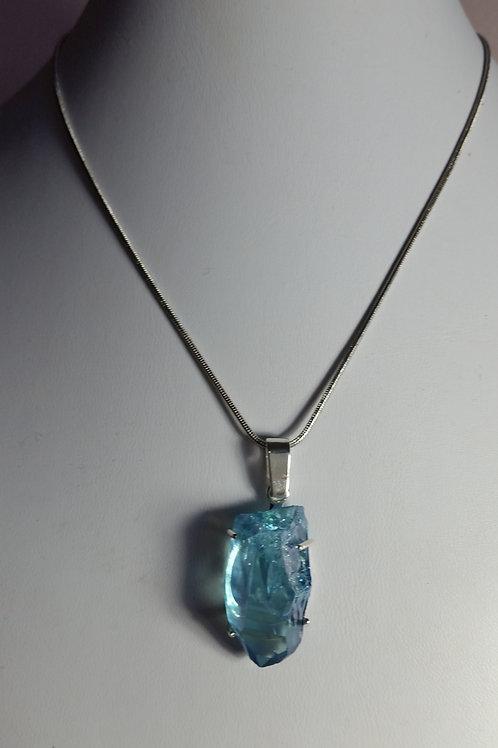 47.5 Blue Quartz Necklace