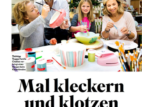 Unser füürwärch in der Schweizer Illustrierten! / fire-works in 'Schweizer Illustrierte'!