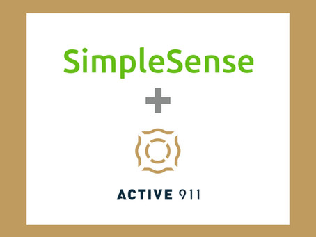 Active911 Proud Partner with SimpleSense Air Force Base Project