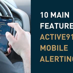 10 Main Features of Active911's ActiveAlert Software