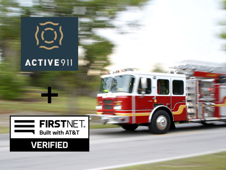 Active911 Earns FirstNet Verified™ Designation