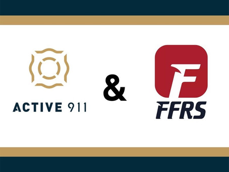 Active911 Acquires Emergency Response Company FFRS