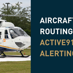 Aircraft Routing with Active911's ActiveAlert Software