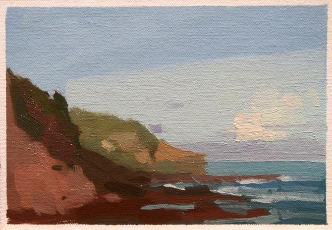 Coast colour study