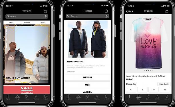 Mobile App Developers Manchester - Tessuti