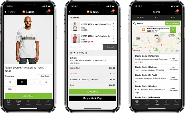 Mobile App Developers Manchester - Blacks