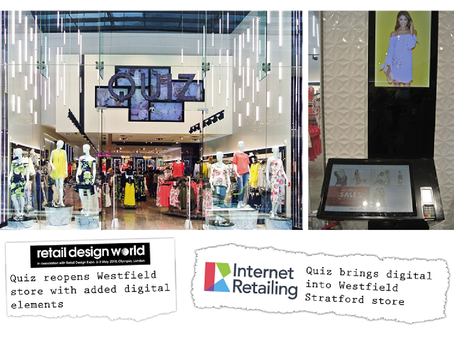 Quiz brings digital in-store with One iota's kiosks & iPads at their newly refurbished store