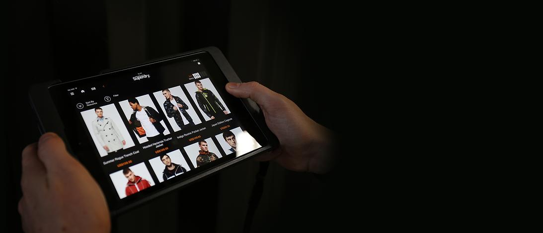 Superdry iPad