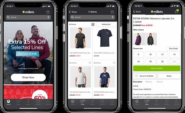 Mobile App Developers Manchester - Millets