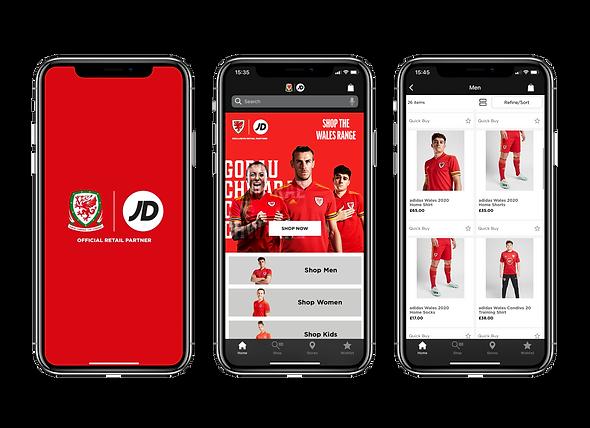 Mobile App Developers Manchester - Welsh Football