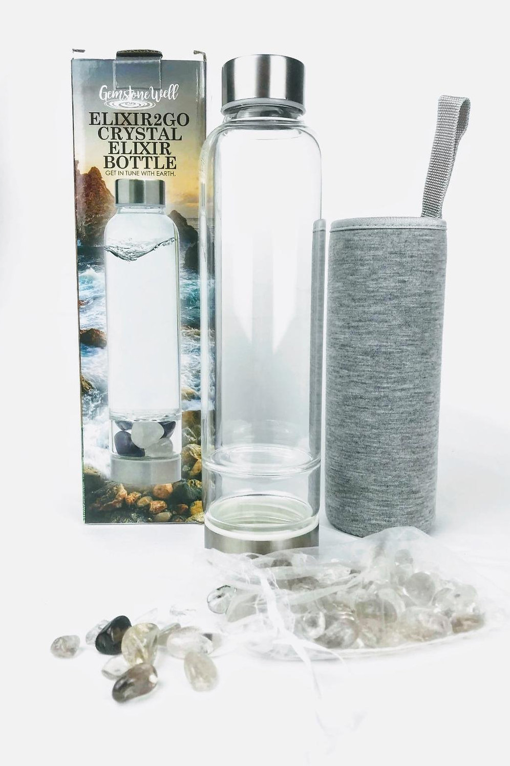 Crystal Elixir Bottle
