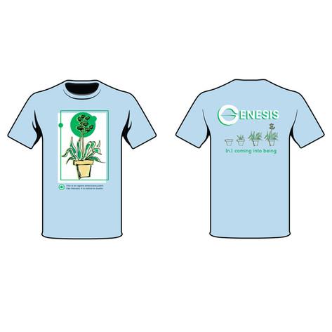Genesis Shirt (spec work)