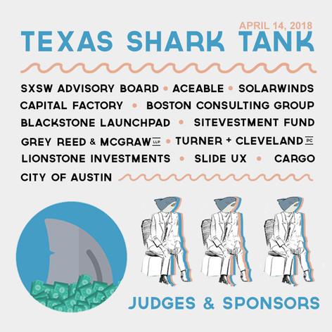 Texas Shark Tank Sponsor Lineup