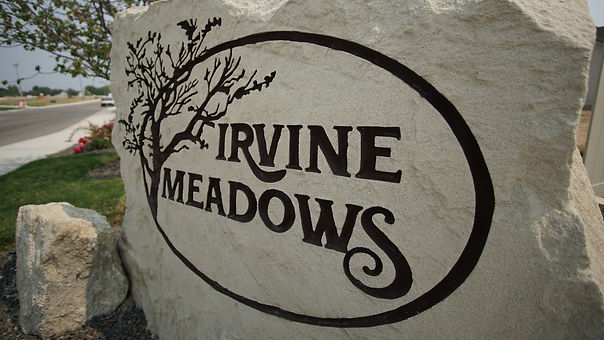 Irvine Meadows Sign Picture.JPG