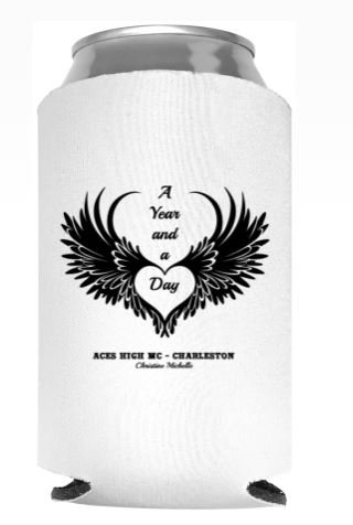 A Year and a Day Can Cooler (Koozie)